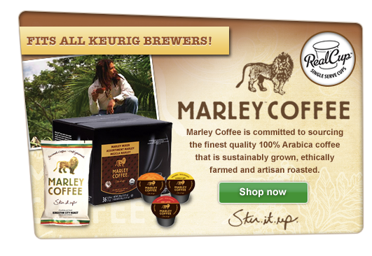 JavaSmart Introduces  Marley Coffee RealCups